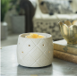 Preview: Candle Warmers Electrische Duftlampe - GEOMETRIC mit Ventilator
