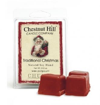 CHESTNUT HILL Candles Soja Duftwachs 85 g TRADITIONAL CHRISTMAS