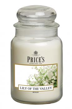 Prices Patent Candle - Large Jar Duftkerze Lily of the Valley 630g