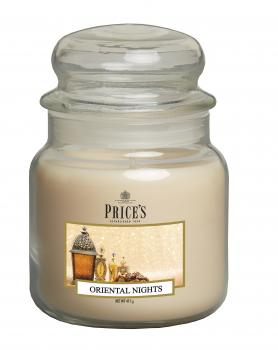 Prices Patent Candle - Medium Jar Duftkerze Oriental Nights 411g