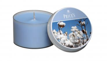 Prices Patent Candle - Tin Duftkerze Cotton Powder 100g