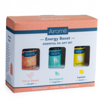 AIROME Geschenk Set ENERGY BOOST Essential Oils 3 x 10 ml
