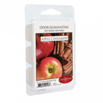 Candle Warmers Odor Eliminating Duftwachs - APPLE CINNAMON 70g