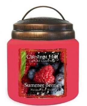 CHESTNUT HILL 2 Docht Duftkerze SUMMER BERRIES 450g