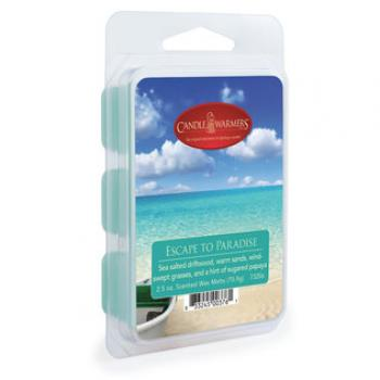 Candle Warmers Classic Duftwachs -  ESCAPE TO PARADISE 70g