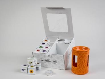 Geschenkbox Scented Cubes 160 orange