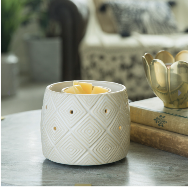 Candle Warmers Electrische Duftlampe - GEOMETRIC mit Ventilator