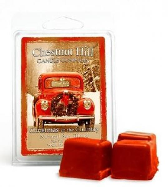 CHESTNUT HILL Candles Soja Duftwachs 85 g CHRISTMAS IN THE COUNTRY