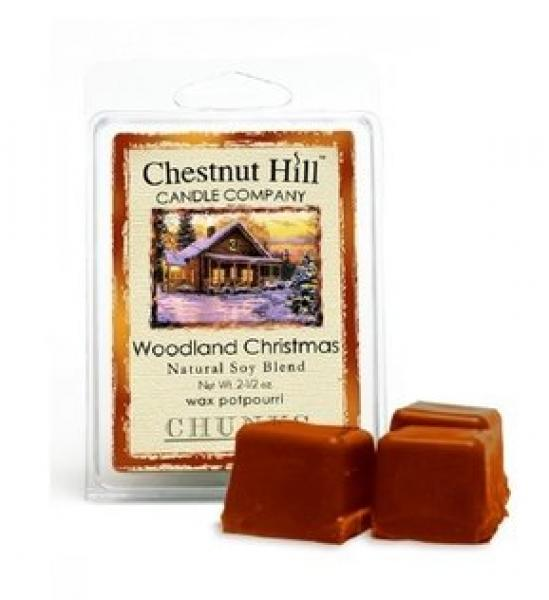CHESTNUT HILL Candles Soja Duftwachs 85 g WOODLAND CHRISTMAS