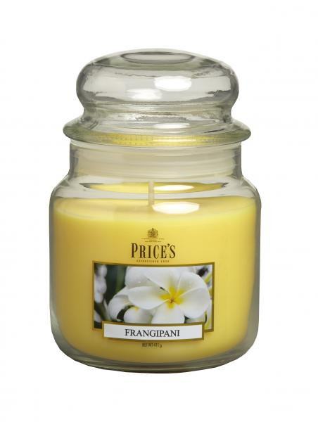 Prices Patent Candle - Medium Jar Duftkerze Frangiapani 411g