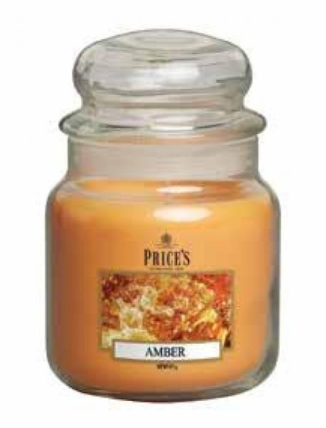 Prices Patent Candle - Medium Jar Duftkerze Amber 411g