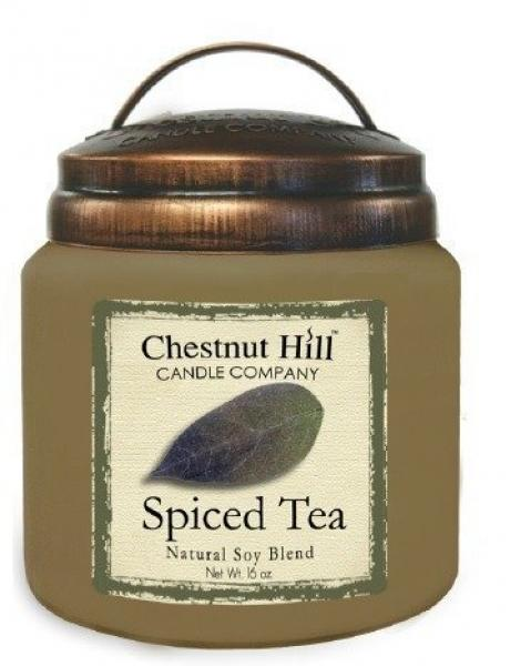 CHESTNUT HILL Candles 2 Docht Sojawachs Duftkerze SPICED TEA 450g