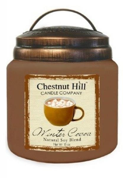 CHESTNUT HILL 2 Docht Duftkerze WINTER COCOA 450g